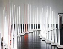 The White Forest lighting installation