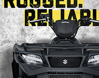 2016 Suzuki KingQuad Key Art