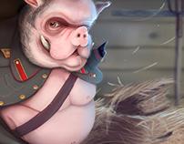 Rebel Pig - Animal Farm