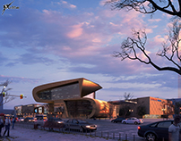 Modern Shopping Center