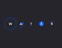 Water_Kinetic Typography