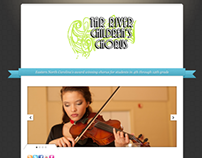 Tar River Children's Chorus Logo and Website