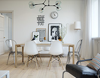Scandinavian style apartment
