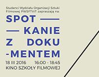 Spotkanie z dokumentem - Szkoła Filmowa w Łodzi