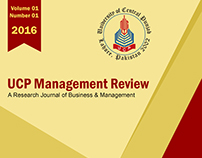 UCP management Review Journal Paper Cover Design