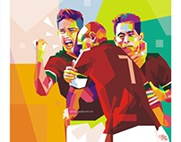Indonesian National Team in WPAP