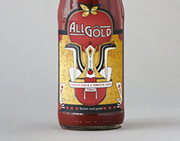 Packaging Design: All Gold Tomato Sauce