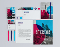 Stereos Stationery/Branding Mock-Up