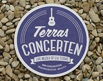 "Identity and Beer Coasters ""Terrasconcerten"""