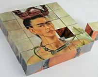 Six faces of Frida