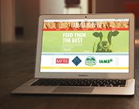 Farmland Website (Desktop)