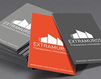 Extramuros : Identité visuelle