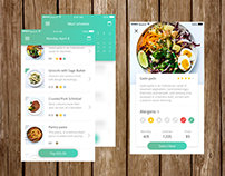 Food delivery app (Daily UI #012 - single product)