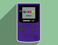 1998 Nintendo Game Boy Color Illustration (2017)