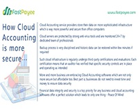 How Cloud Accounting is more secure?