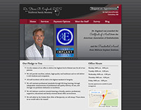 Southwest Family Dentistry - Website Design