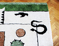 Långgårdsgatan 4 - A carpet with childhood memories