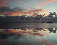 Infinity Pool Sunset Pics