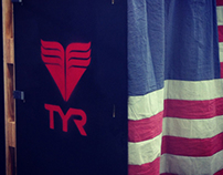 TYR Custom Pop Up Shop