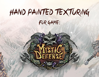 Hand painted texturing for game: Mystic Defense