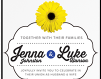 Wedding Invitation Design + RSVP