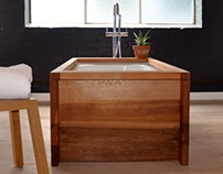 Cedar Freestanding Bath