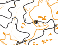 Mountain Bike Race Map