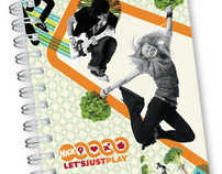 Nickelodeon Let's Just Play Notebook