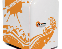 Nickelodeon Mini Fridge Holiday Gift