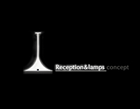 Reception&lamps concept