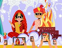 Social Shehnai // Web Graphics