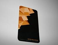 Peter Mulheron Business Card
