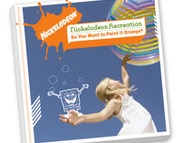 Nickelodeon Recreation Guide Book