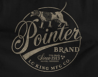 T-Shirt Design for Pointer Brand and LC King