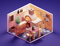 Isometric Shop Illustrations