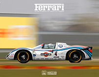 '50s-'60s LE MANS CARS MEET GROUP C LIVERIES