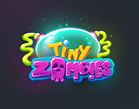 Tiny Zombies Game Ui