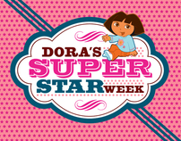 Nick Jr. Dora's Super Star Week On-Air End Pages