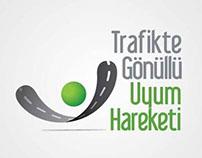 Trafikte Gönüllü Uyum Hareketi Logo