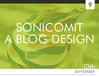 SonicomIT - A Blog Design