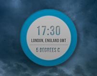 Weather Clock App