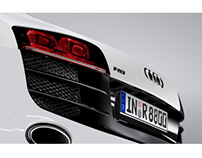 Digital Illustration Audi R8