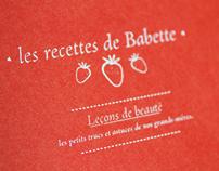Les recettes de Babettes