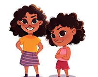 """Wonderfully Made"". Children's book illustration"