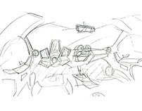 Thumbnail Sketches for Kart Project