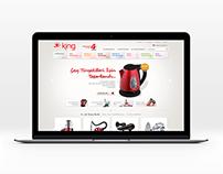 King - eCommerce Design