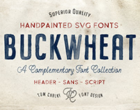 Buckwheat - Handpainted SVG Font Collection