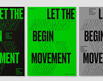 Movement — Let the movement begin!