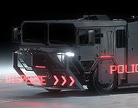 Ghost in the Shell - Armored Personnel Carrier