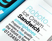 Mr. Roboto Type Specimen Book